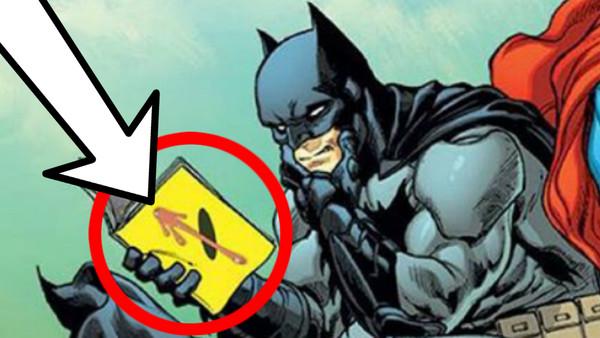 Batman Reading Watchmen
