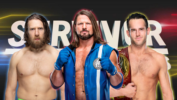Bryan Strong AJ Styles Survivor Series 2019