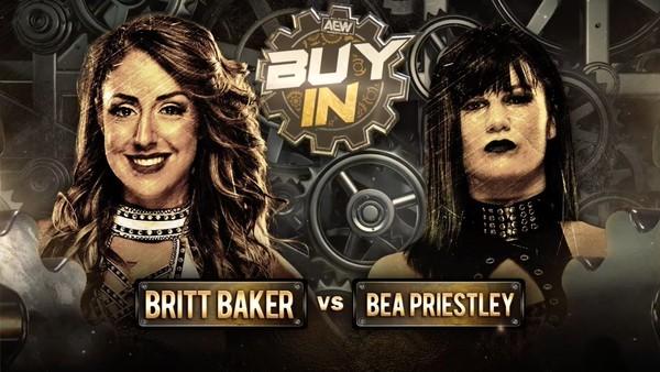 Britt Baker Bea Priestley