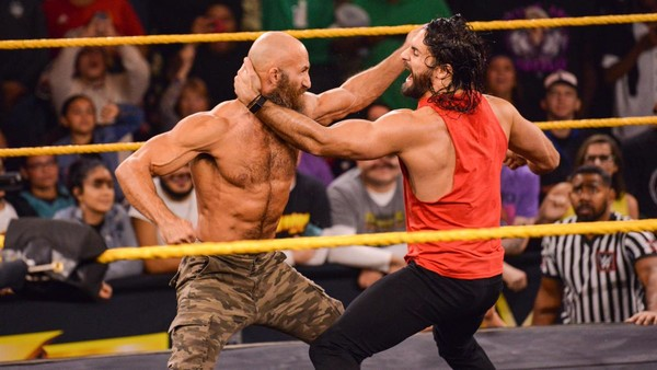 Seth Rollins Tommaso Ciampa NXT