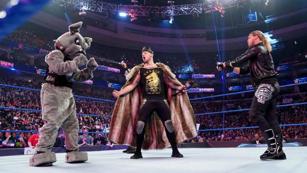 King Corbin Roman Reigns Big Dog