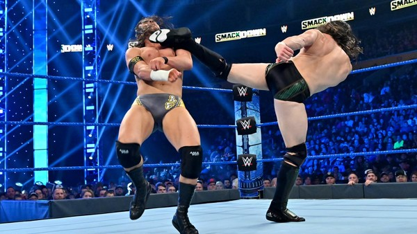 Daniel Bryan Adam Cole SmackDown