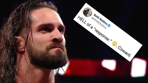 Seth Rollins CM Punk Coward