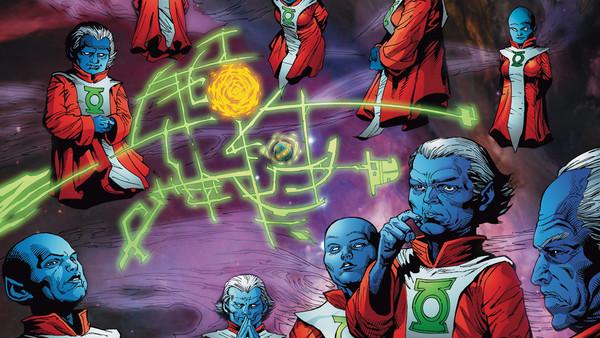 The Guardians Green Lanterns