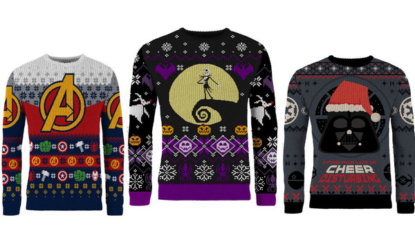 Merchoid Christmas Jumpers