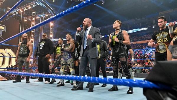 Triple H NXT crew SmackDown