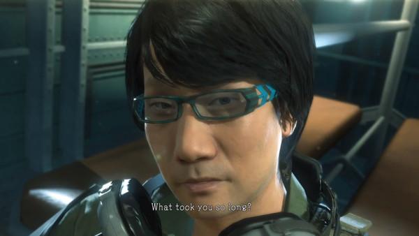 Hideo Kojima Metal Gear Solid Ground Zeroes