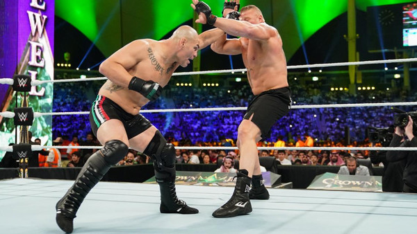 WWE Crown Jewel 2019 Brock Lesnar Cain Velasquez