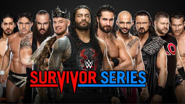 survivor series 2019 teams