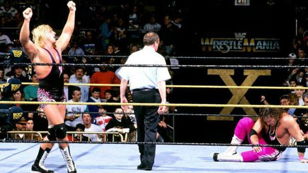 Owen Bret Hart WrestleMania X