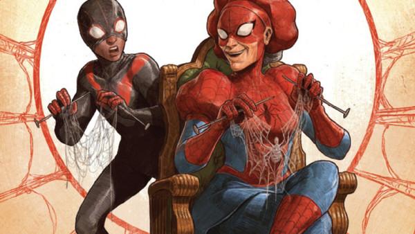 Spider-Verse #2 Miles Morales Aunt May