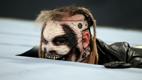 The Fiend lurking on SmackDown