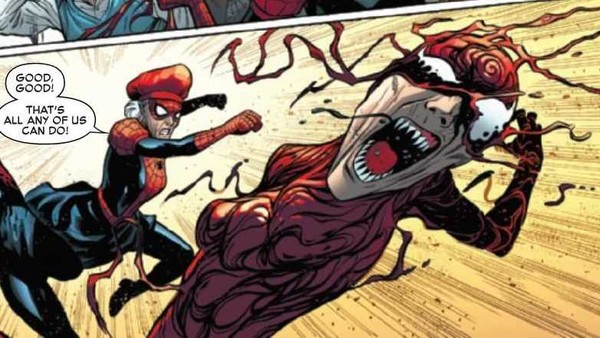Spider-Verse #2 Spider-Ma'am Carnage Aunt May Parker