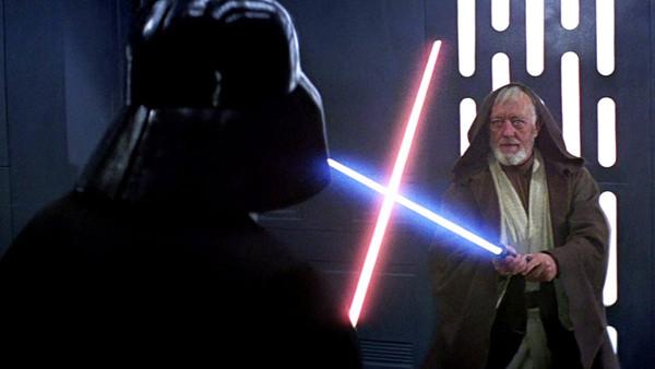 Star Wars A New Hope Obi Wan Vader