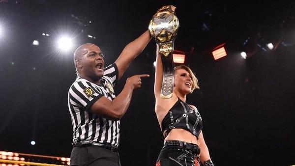 Rhea Ripley Wins Nxt Women S Championship Johnny Gargano