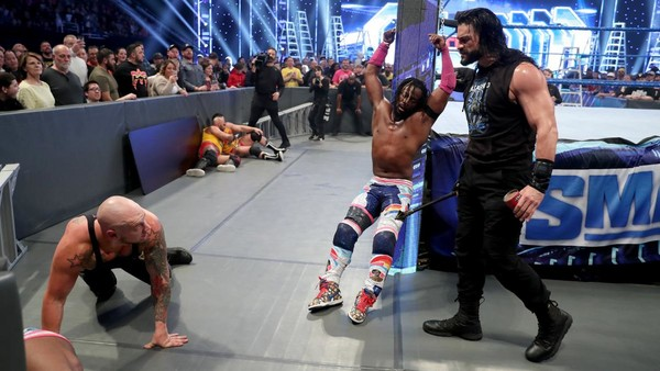 Roman Reigns King Corbin Kofi Kingston