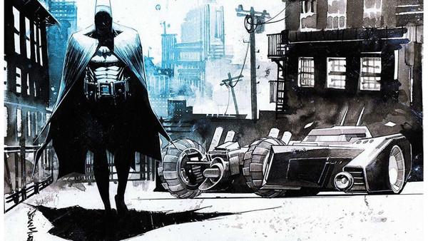 Batman comic dark knight