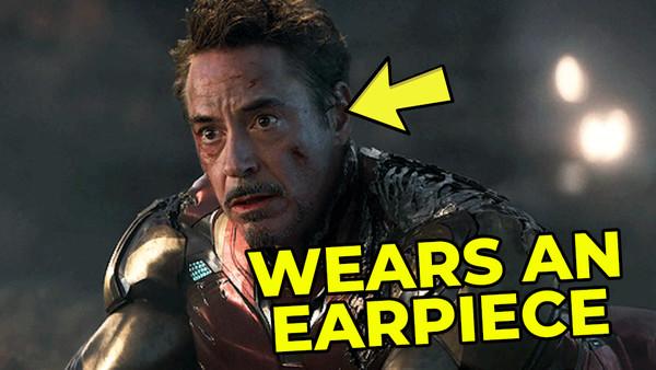 Avengers Endgame Robert Downey Jr