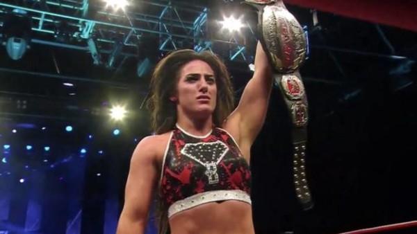 Tessa Blanchard Impact Champion