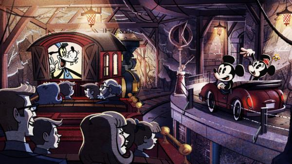 Disney World Mickey and Minnie Runaway Railway