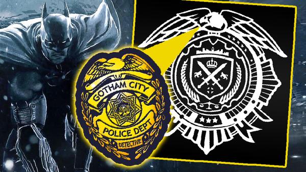 Batman Arkham GCPD Symbol