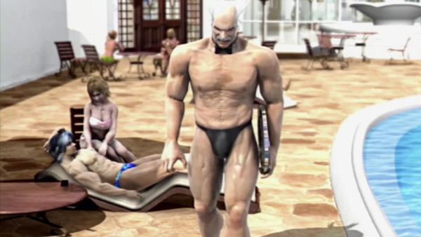 Tekken 5: Lee Chaolan's ending