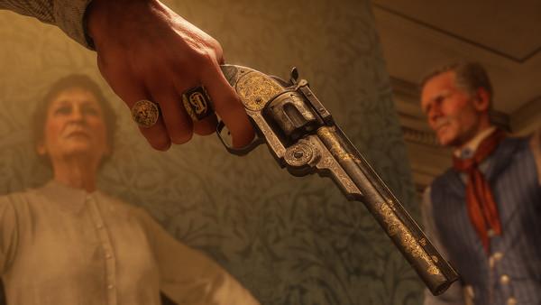 Red Dead Redemption 2 Gun