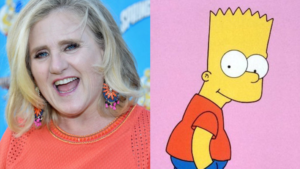 Nancy Cartwirght Bart Simpson