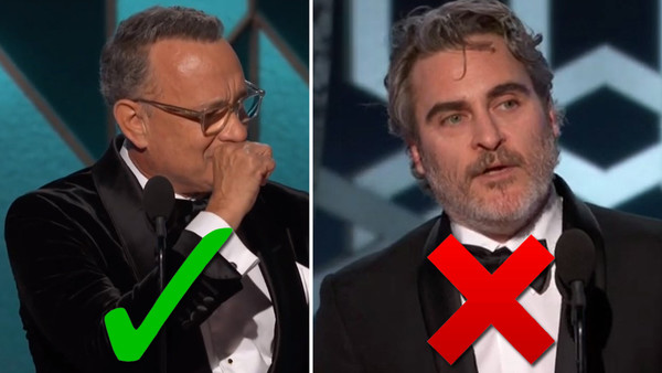 Golden Globes 2020 Tom Hanks Joaquin Phoenix