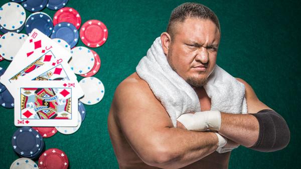 Samoa Joe Poker