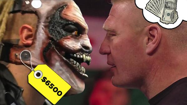 Bray Wyatt Brock Lesnar