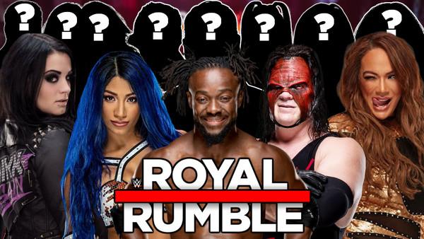 Royal Rumble entrants