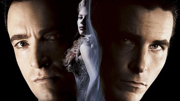 The Prestige poster Hugh Jackman Scarlett Johansson Christian Bale