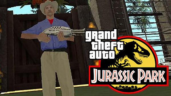 jurassic park grand theft auto