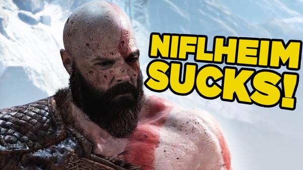 God of War Kratos Nifleheim