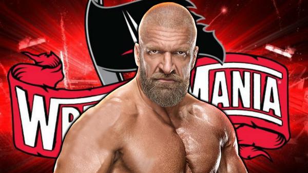 Triple H WrestleMania 36