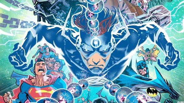 Flash Doctor Manhattan DC Comics