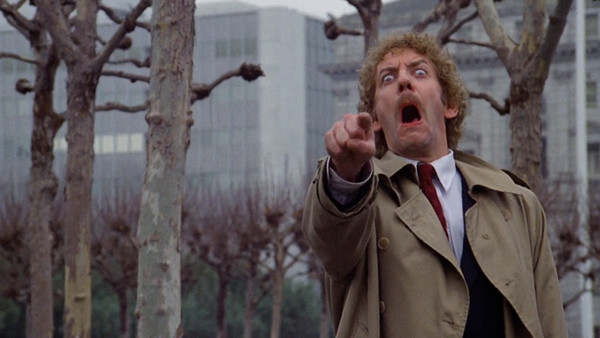 Invasion of the Body Snatchers Donald Sutherland