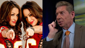 The Bella Twins Thought WWE's Hall Of Fame Call Was TROUBLE