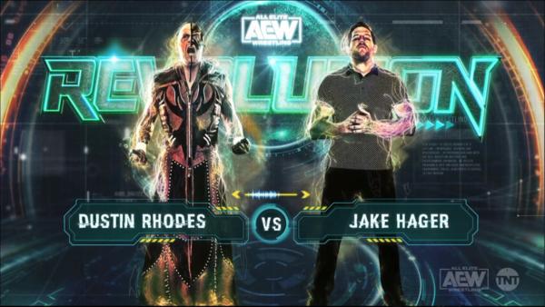 Dustin Rhodes Jake Hager