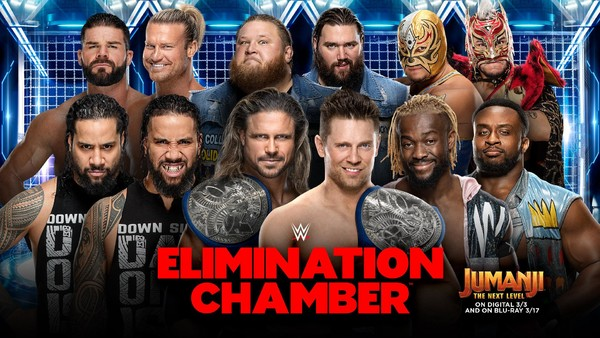 Image result for Elimination Chamber (2020)