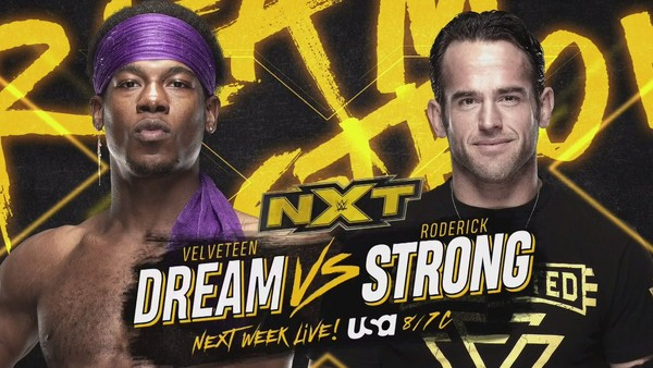 Velveteen Dream Roderick Strong