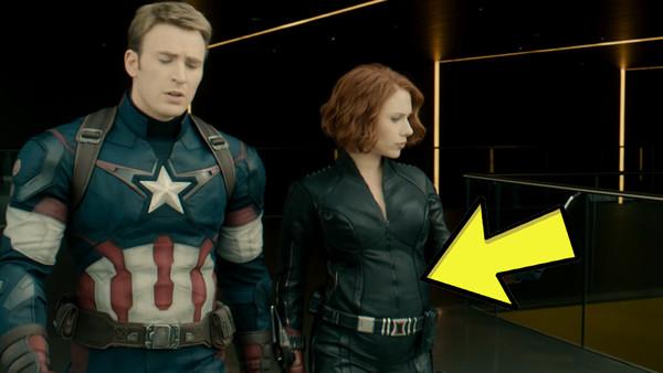 Avengers Age of Ultron Cap Black Widow
