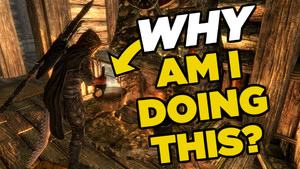 10 POINTLESS Video Game Mechanics Gamers Always Use