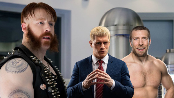 Sheamus Cody Rhodes Daniel Bryan Rocksteady TMNT