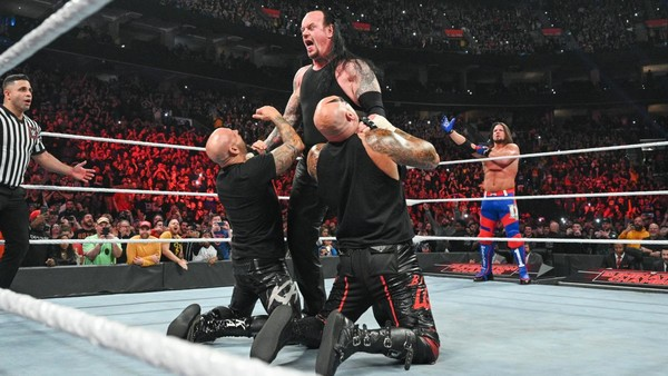 The Undertaker Elimination Chamber