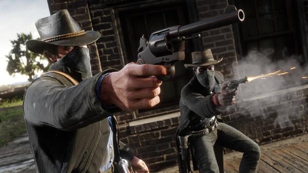 Red Dead Redemption 2 Saint Denis Heist