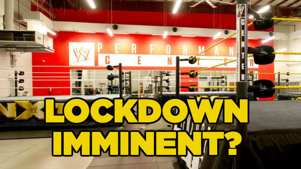WWE Performance Center lockdown