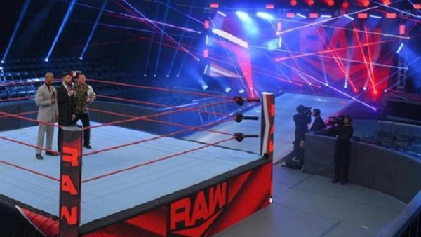WWE Raw Performance Center