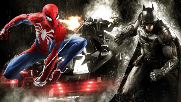 Spider Man Batman